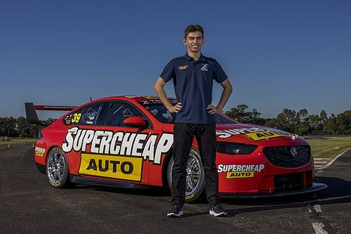 "Teenager's ""surreal"" Triple Eight Bathurst shot"