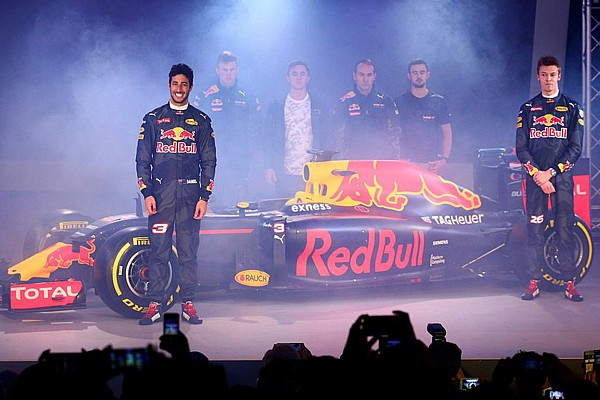 Red Bull zeigt Design für Formel-1-Saison 2016