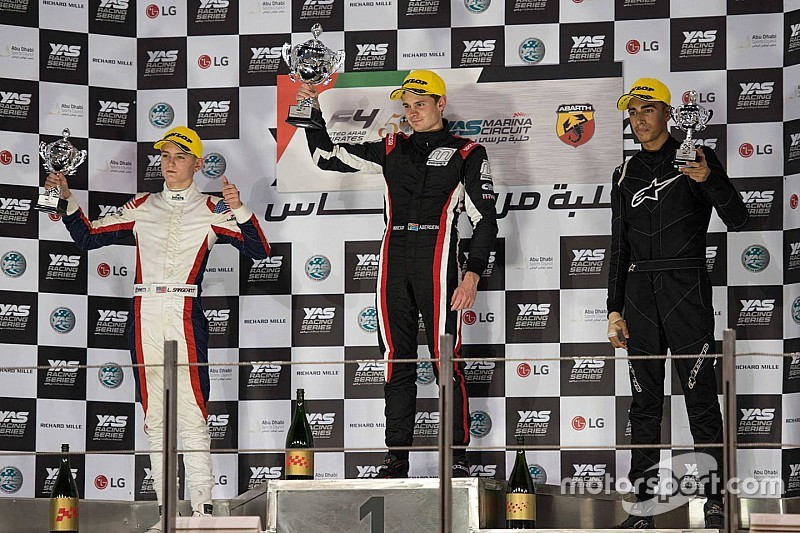 Donison claims three podium finishes in F4 UAE's Trophy Event