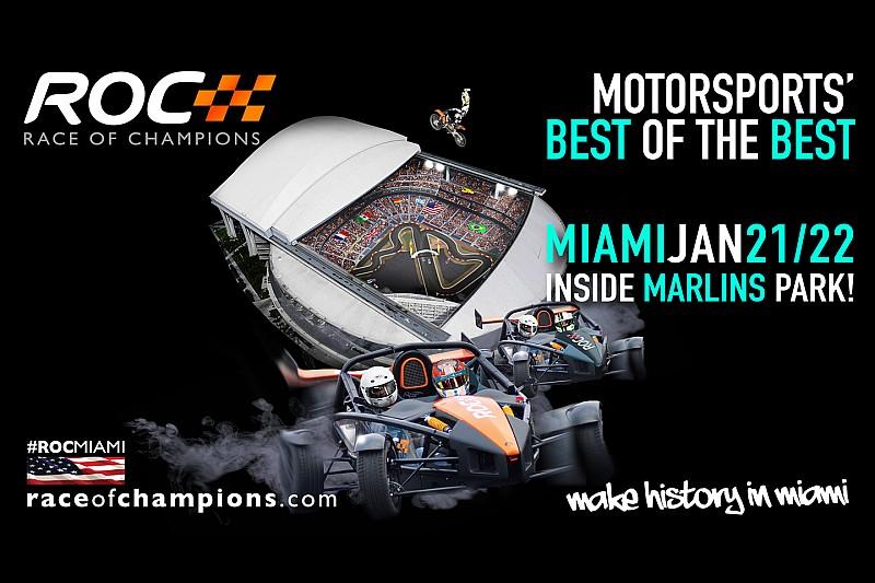 Race of Champions im Januar 2017 erstmals in den USA