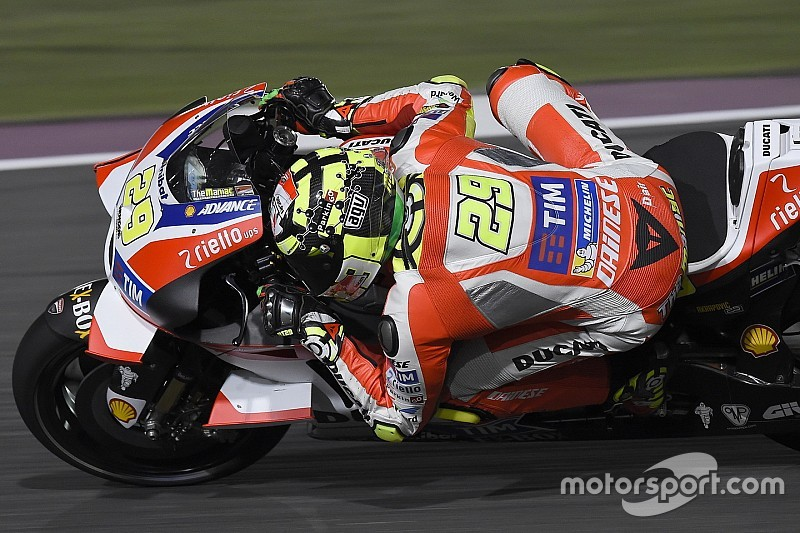 "Iannone: ""I had the speed to fight with Lorenzo"""
