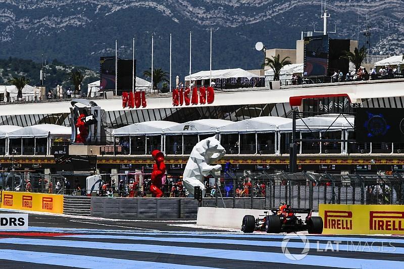 Los pilotos de F1, preocupados por la seguridad del pitlane de Paul Ricard
