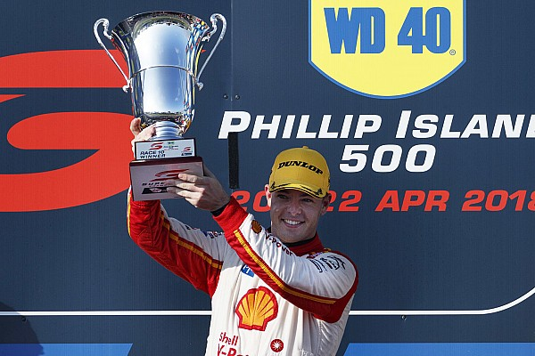 Supercars Race report Phillip Island Supercars: McLaughlin completes clean sweep