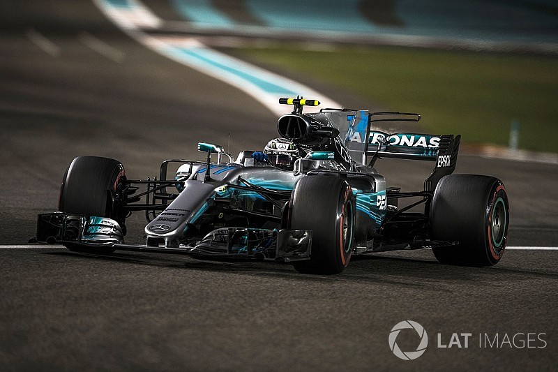 Formel 1 2017 in Abu Dhabi: Ferrari chancenlos, Bottas auf Pole!