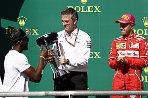 Taiseux sur Ferrari, Allison estime que Mercedes