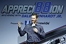Dale Earnhardt Jr. - at least his likeness - honored by a hall of fame