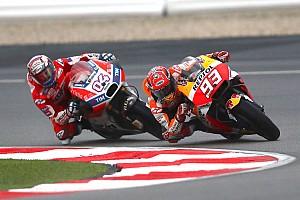 MotoGP Noticias de última hora Márquez ya ganó dos títulos en Valencia y Dovizioso perdió uno