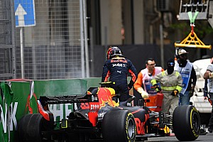 Formula 1 I più cliccati Fotogallery: Verstappen sbatte ancora nelle libere di Baku