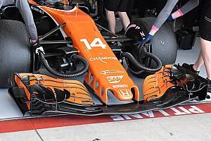 Forma-1 BRÉKING Komoly fejlesztéseket kapott Alonso McLarenje Austinban - csak az autó most sem bírta...