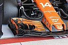 Forma-1 Új első szárny került Alonso McLarenjére