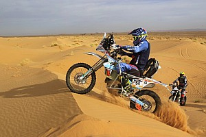 Dakar Artículo especial La historia de Nicola Dutto, dunas sobre dos ruedas con una lesión medular