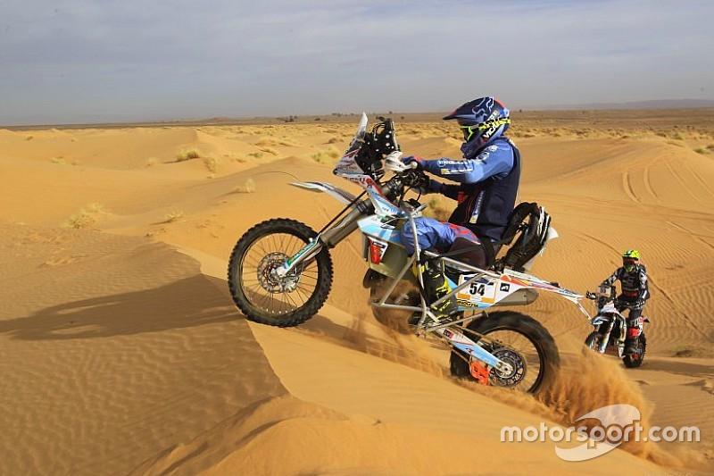 La historia de Nicola Dutto, dunas sobre dos ruedas con una lesión medular
