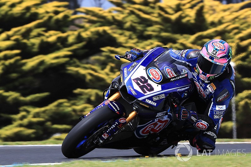 Yamaha: Alex Lowes stürzt in Lukey Heights