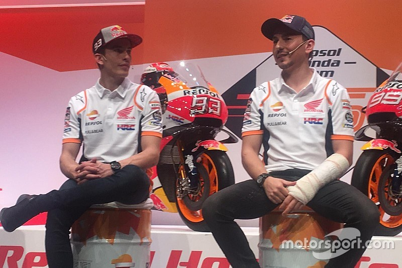 Lorenzo be akarja bizonyítani, hogy a Honda egy olyan álomcsapat, amilyennek mondják