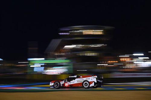 Vídeo: el Toyota #7 pierde el liderato de Le Mans por un problema