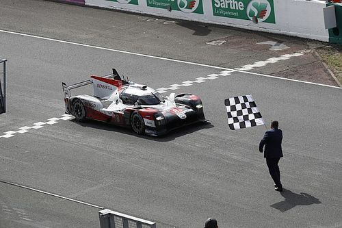 中嶋一貴&トヨタ8号車、ル・マン24時間レース3連覇を達成! 小林可夢偉のトヨタ7号車は3位
