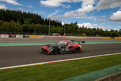 ASP Mercedes heads first qualifying for Spa 24 Hours