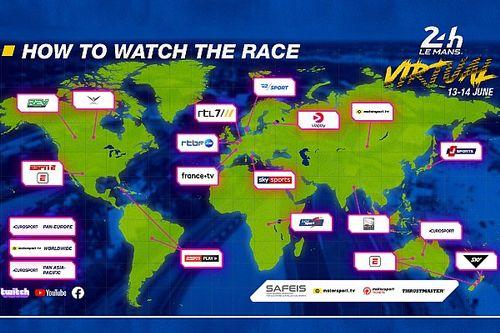 أين يمكنكم مشاهدة سباق لومان 24 ساعة الافتراضي؟