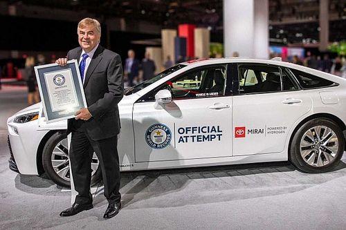 1360 km avec un plein: nouveau record du monde pour la Toyota Mirai