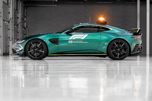 Aston Martin, 2021 F1 sezonunda kullanılacak güvenlik ve tıbbi aracını tanıttı!