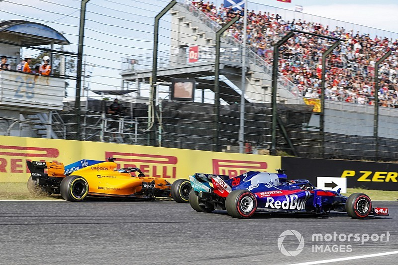 Alonso says penalty shows
