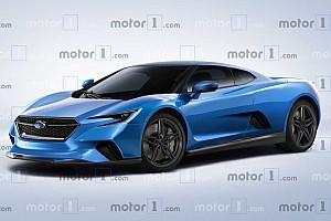 Рендер: яким може стати новий середньомоторний Subaru?
