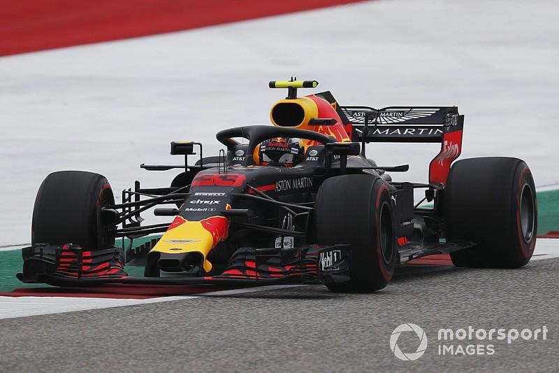 Verstappen penaliza en la parrilla de Austin por reemplazar la caja de cambios