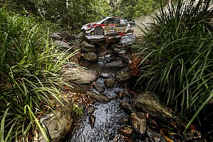 Australia WRC: Rain shakes up lead battle
