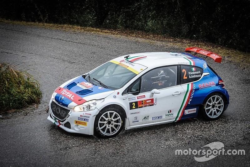 Andreucci chiude al secondo posto Gara 1 del Rally 2 Valli