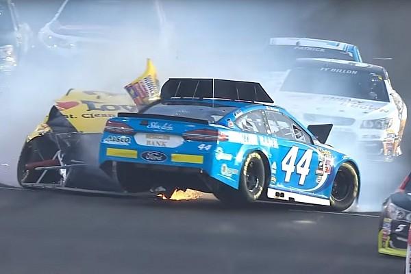 NASCAR Cup Die Crashs und der Spritpoker: Die Video-Highlights von NASCAR in Kentucky
