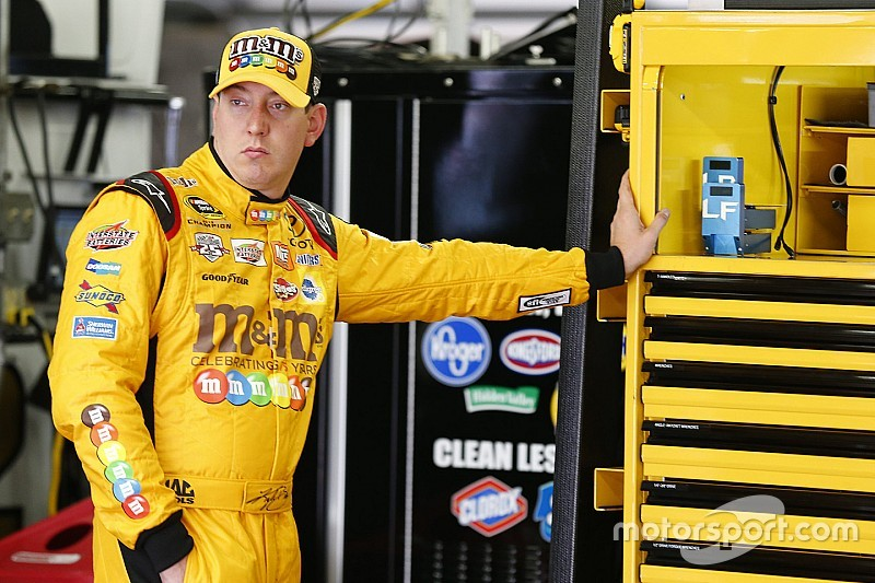 Busch brothers top first Cup practice at Kansas