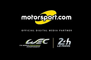 Motorsport.com wird offizieller Medienpartner von FIA WEC und 24h Le Mans