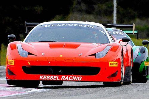 Perel flies for Ferrari in France