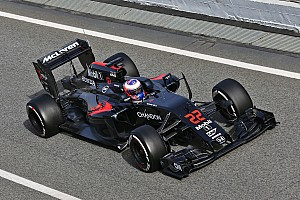 Formula 1 Testing report Button completes 84 laps on inaugural day of pre-season test at Barcelona