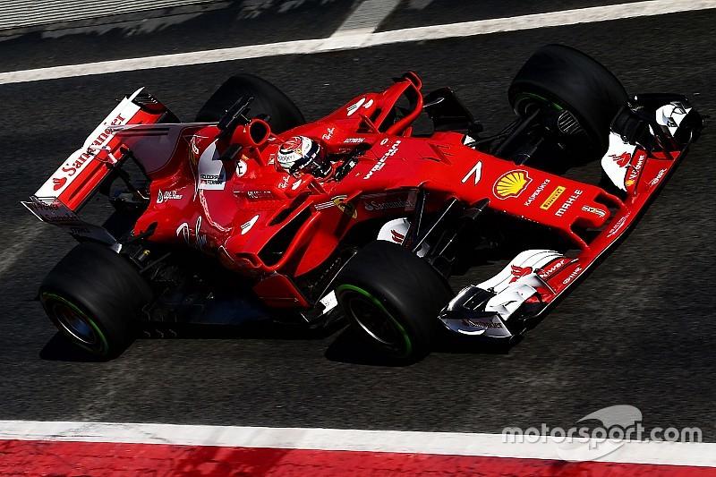 F1-Test Barcelona: Ferrari-Pilot Kimi Räikkönen mit Tagesbestzeit