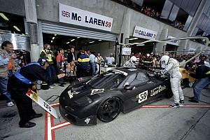Le Mans Noticias de última hora McLaren pensaría en Le Mans si cambian las normas en LMP1