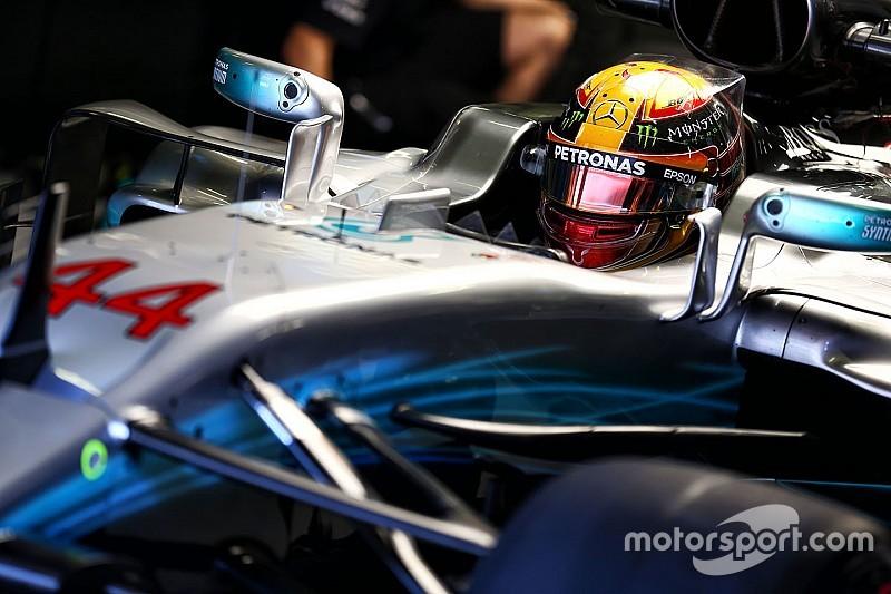 """Hamilton a """"hâte"""" de voir le niveau de Red Bull et Ferrari"""