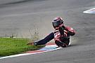 Superbikes In beeld: Stefan Bradl crasht tijdens WSBK-training Lausitzring