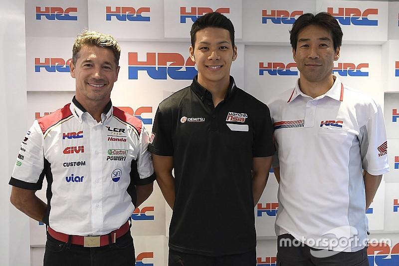 Nakagami en MotoGP avec LCR en 2018