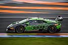 Lamborghini Super Trofeo Довіціозо змагається у фіналі чемпіонату світу Lamborghini в Честе
