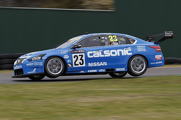Supercars Sandown 500: Caruso leads practice, Penske and T8 tangle