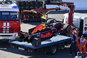 Formule 1 Nieuws Geen lange runs voor Verstappen door brandstofdrukprobleem