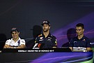 Monaco GP: Wednesday's press conference
