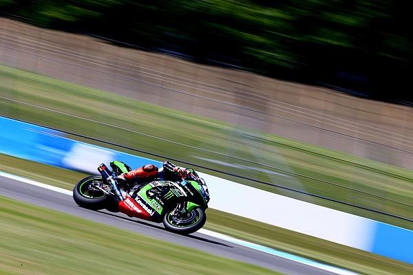World Superbike Race report Donington WSBK: Sykes wins, Davies and Rea crash
