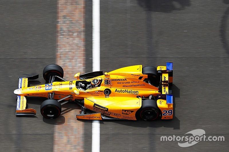 Alonso usará un nuevo número para las 500 de Indy 2019