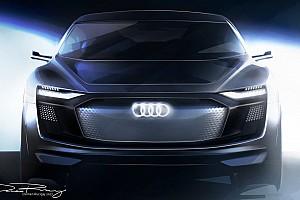 Auto Actualités Les premières images du concept Audi e-tron