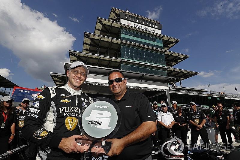 Indy 500: Ed Carpenter auf Pole vor Penske-Trio