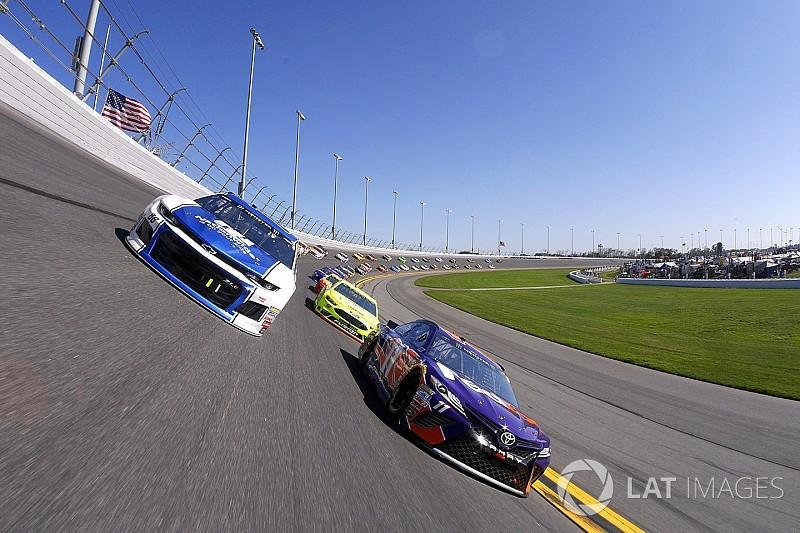 """Denny Hamlin was """"licking his chops"""" at shot to win second Daytona 500"""
