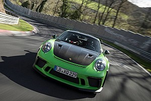 Automotive Breaking news It's official: Porsche 911 GT3 RS laps Nurburgring in 6:56.4