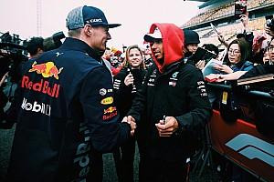 F1 突发新闻 汉密尔顿主动与维斯塔潘握手言和